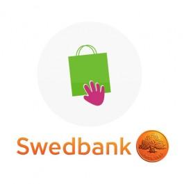 Swedbanki pangalink Prestashopile