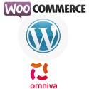 """Omniva (Post24, Eesti Post) """"kõik ühes"""" moodul Wordpress Woocommercele"""